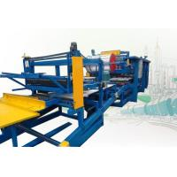 Cheap Rock Wool Sandwich Panel Production Line Roll Forming Machine 250mm Thickness wholesale