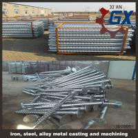 Cheap line type helical pile & screw pile wholesale
