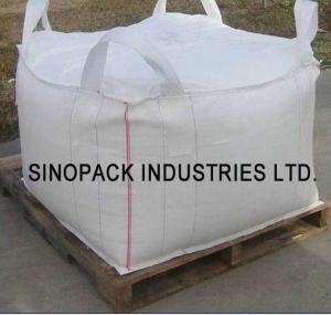 Cheap Four loops 1000KGS big bag FIBC , soil mineral construction One Ton Bulk Bags wholesale