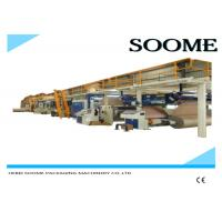 Cheap Fully Automatic Corrugated Cardboard Production Line 5 Layers 1 Year Warranty wholesale