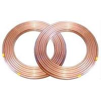Cheap 0.5mm,0.6mm thickness Copper Coated low carbon Single Wall Steel Tube for chiller, heaters wholesale
