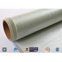 Buy cheap 400g Plain Weaven Woven Roving Fiberglass Fabric For Automotive Parts from wholesalers