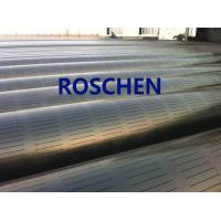 Buy cheap Slotted Pipe , Carbon Steel Tube , Oil Screen Tube Control Sand Coring Drilling from wholesalers