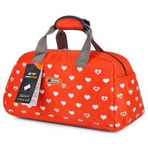 Cheap Printed Custom Duffle Bags , Reusable Nylon Cloth Bag For Ladies wholesale
