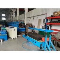 China New Type Self-locked / Self-seamed Box Beam Roll Forming Machine , Size Adjustable on sale