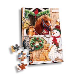 Cheap Flip 3D Lenticular Printing Service Children Educational Toy 3D Jigsaw Puzzle wholesale