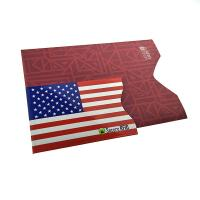 Cheap Customized Color RFID Blocking Card Sleeve Fits In Wallet 90*62*2mm wholesale