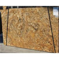 Cheap Brazil Gold Granite Tile Countertop / Granite Slabs For Kitchen Countertops wholesale