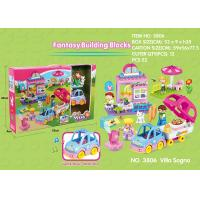 Cheap Fire Station Building Blocks Educational Toys W / Functions For Age 3 Years Kids 49Pcs wholesale