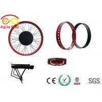 500W Hub Wheel Fat Tire Electric Bike Conversion Kit With Star One Type Battery