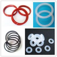 Cheap Oil Resistant Silicone Rubber O Ring Seal ISO9001 / TS16949 , Rubber O Rings wholesale