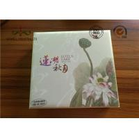 Cheap Luxury High Grade Moon Cake Packaging Box , Hot Foiling Printing Gift Paper Box wholesale