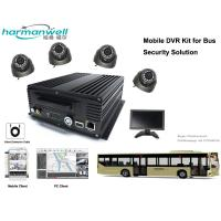 Cheap 4ch 720P AHD HDD Bus DVR System for Driver Monitoring GPS/3G/4G/WIFI Optional wholesale