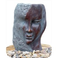 Cheap Customized Size Indoor / Outdoor Copper Water Fountains In Lady Face for sale