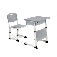 Cheap Middle Student Desk Chair Steel School Furniture Metal Child Reading Table wholesale