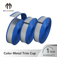 Buy cheap Colorful 65mm Flexible Jewelite Channel Letter Trim Cap from wholesalers