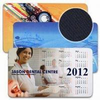 Cheap Microfiber Notebook Mouse Pads in Size of 275 x 160mm, with 3 Functions wholesale