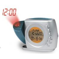 Cheap New Dual projections alarm clock radio with back up battery wholesale