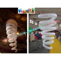 Cheap Curve Inflatable Lighting Decoration For Outroor , 2m Light Exhibition wholesale