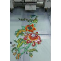 Cheap 24 Heads 1200 RPM Flatbed Embroidery Machine With Auto Trimmer wholesale