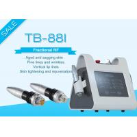 Buy cheap Portable Fractional RF Microneedle Machine For Wrinkle / Stretch Mark Removal from wholesalers
