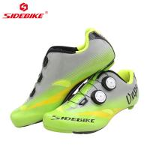Cheap Men Carbon Fiber Cycling Shoes , Specialized Carbon Road Shoes Good Shock Absorption wholesale