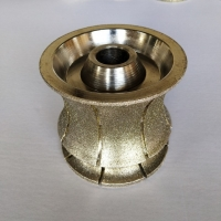 Cheap 140mm OD Electroplated Diamond Blade Router Bits  Precise Balanced Coarse grit wholesale