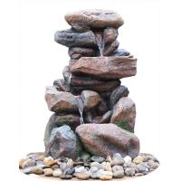 Buy cheap Contemporary Hand Cast Large Rock Fountain For Patios / Aquaria from wholesalers