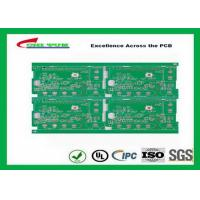 China Green Solder Mask Single Layer PCB Design With Immersion Gold Fr4 1.6mm 2oz on sale