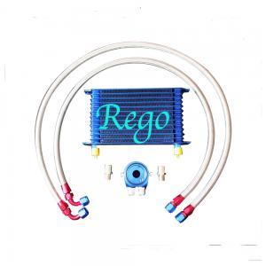 Cheap Aluminium Radiator Transmission Oil Cooler Kit , 13 Rows External Transmission Oil Cooler wholesale