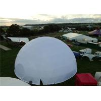 Buy cheap Waterproof Steel Geodesic Dome Shelter 30M Diameter Garden Gather from wholesalers