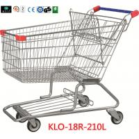 Cheap 210 Litre Grocery Shopping Trolley With Zinc Or E - Coating With Color Powder Coating wholesale