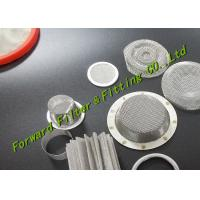 Buy cheap Special Shape Screen Forming Filter Parts SS304 316 Material Can Choose Design from wholesalers