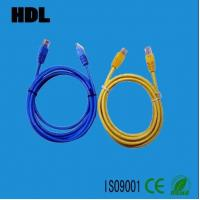 Cheap network cat5e cat6 patch cord cable with RJ45 plug wholesale