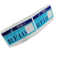 Cheap Custom RFID 860~960MHz 475*54mm Luggage Label Sticker Baggage For Tracking Management wholesale
