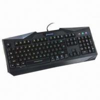 Cheap Illuminated Keyboard with Laser Printing Icons, Strong and Heavy Mechanical Design wholesale