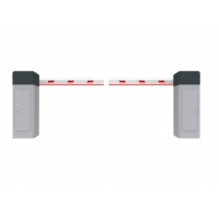 Buy cheap Double Sensor 6s 120W 6m Arm Vehicle Barrier Gate from wholesalers