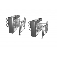 Cheap 40W 0.2S 30Person/Minute Half Height Turnstile 4 Arms wholesale