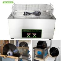 Cheap Lp Vinyl Record Digital Ultrasonic Cleaning Machine Stainless Steel Benchtop 6.5 Litre 40khz wholesale