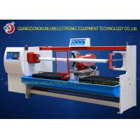 China Professional Thermal Paper Roll / Jumbo Roll Cutting Machine PLC Touch Screen Control on sale