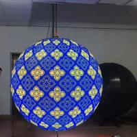Cheap HD Full Color Led Video Display Panels SMD Indoor 0.8m Diameter P4 2 Years Warranty wholesale