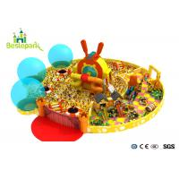 Buy cheap Shopping Mall Kids / Baby Climbing Gym With Plastic Slid / Soft Toys from wholesalers