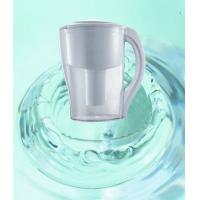 Cheap Household Pre-Filtration Water Purification Pitcher , Fluoride Water Filter Jug AS Material wholesale