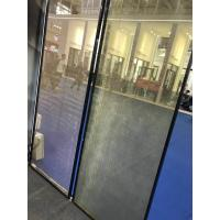Cheap SGP Laminated Glass Partition With Metal Coated Polyester Mesh Fabric wholesale