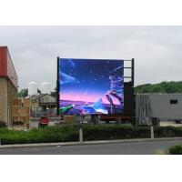Buy cheap Advertising Outdoor Full Color LED Display By The Road P10 Stud Ip68 from wholesalers