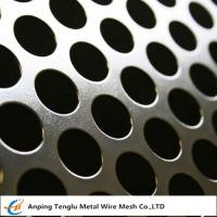 Cheap Round Hole Patten Perforated Sheet|Stainless Steel Perforated Plate R4 T6 wholesale