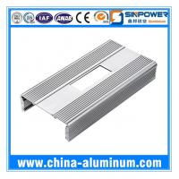 Cheap Aluminium Profile with Bending Drilling Punching for Trolley Case wholesale