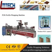 Buy cheap wood profile wrapping machine from wholesalers