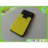 Cheap Mobile Phone Silicone Smart Wallet Square Custom With 3M Sticker wholesale