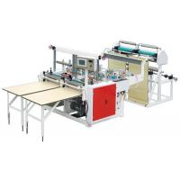 Cheap Outside Patch Carry Bag Manufacturing Machine , Plastic Bag Maker Machine 220V / 380V wholesale